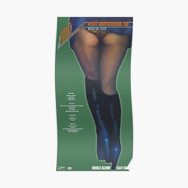 1969: The Velvet Underground Live Poster Poster