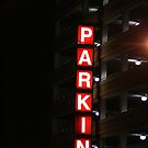 Lighted Parking by Dean Mucha