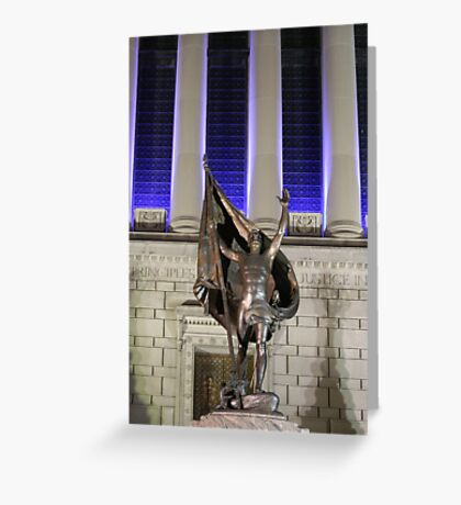 Indiana Remembers Pro Partia Greeting Card