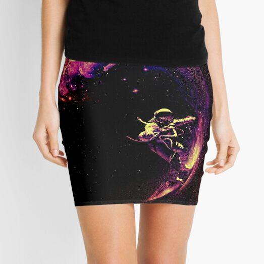 Space Surfing Mini Skirt