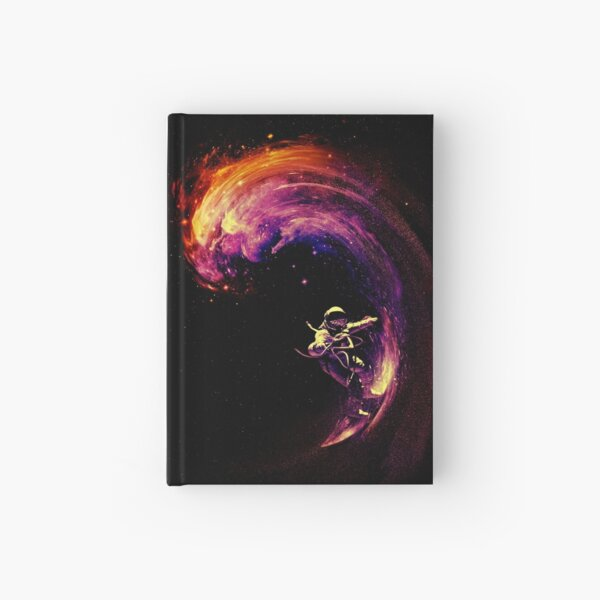 Space Surfing Hardcover Journal