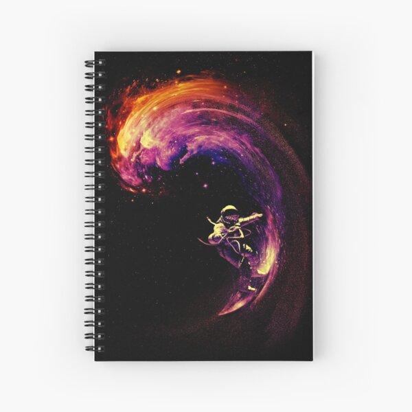 Space Surfing Spiral Notebook