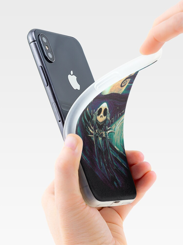 Alternate view of The Scream Before Christmas iPhone Case & Cover
