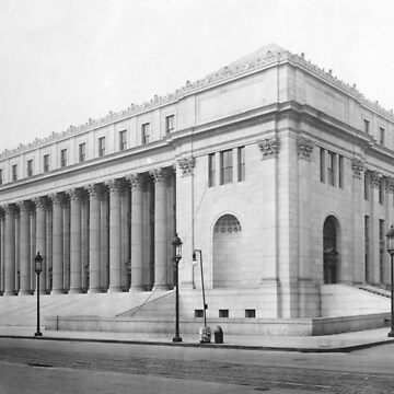 Vintage James Farley NYC Post Office Photograph by BravuraMedia