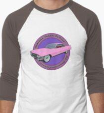 Pink Cadillac - Classic American Retro Car  Men's Baseball ¾ T-Shirt