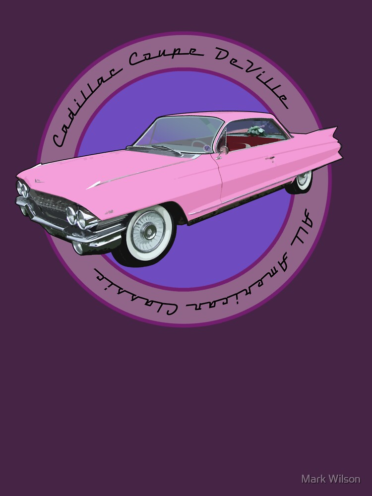Pink Cadillac - Classic American Retro Car  by Sparks68