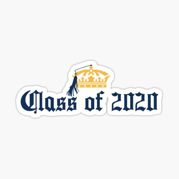 Clase Corona de 2020 Pegatina