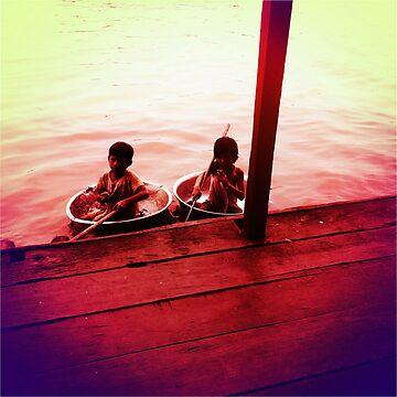 Vietnamese Kids  by georginho