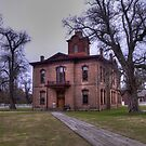 The Courthouse at Historic Washington State Park - Washington, Arkansas by Terence Russell