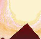 Beneath The Blazing Sun I by ArtOfE
