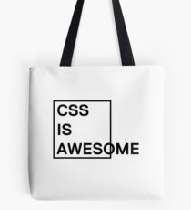CSS is Awesome 1 Tote Bag