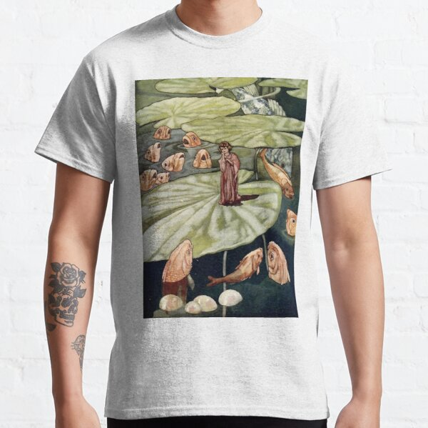 """The Little Fishes and Thumbelina"" by Charles Robinson Classic T-Shirt"