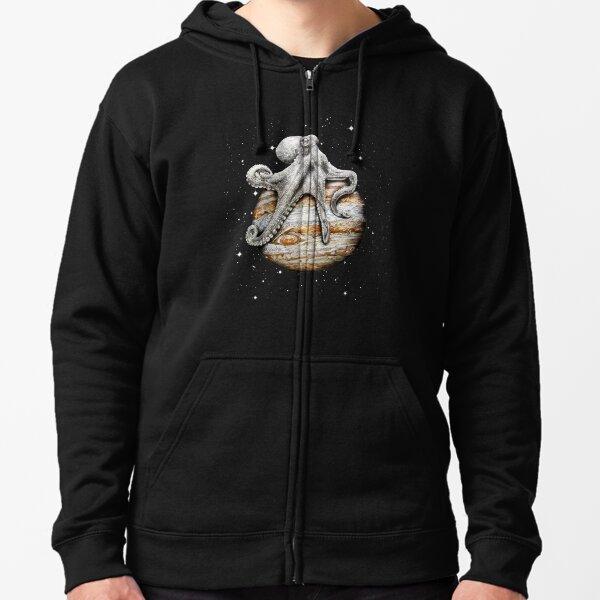 Celestial Cephalopod Zipped Hoodie