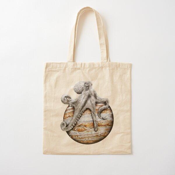 Celestial Cephalopod Cotton Tote Bag