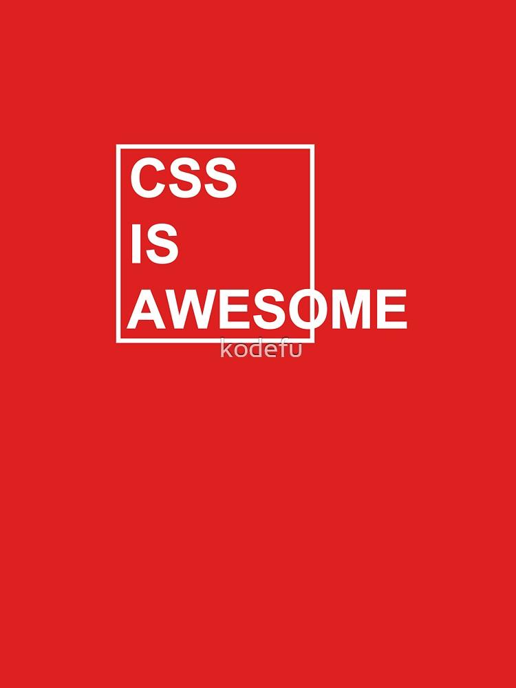 CSS es impresionante de kodefu