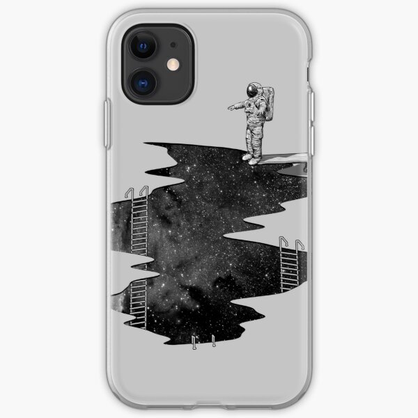 Space Diving iPhone Soft Case