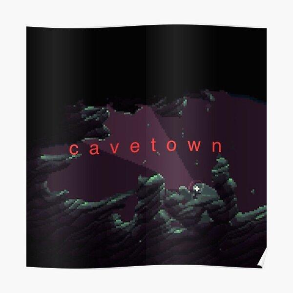 Cavetown cave design Poster