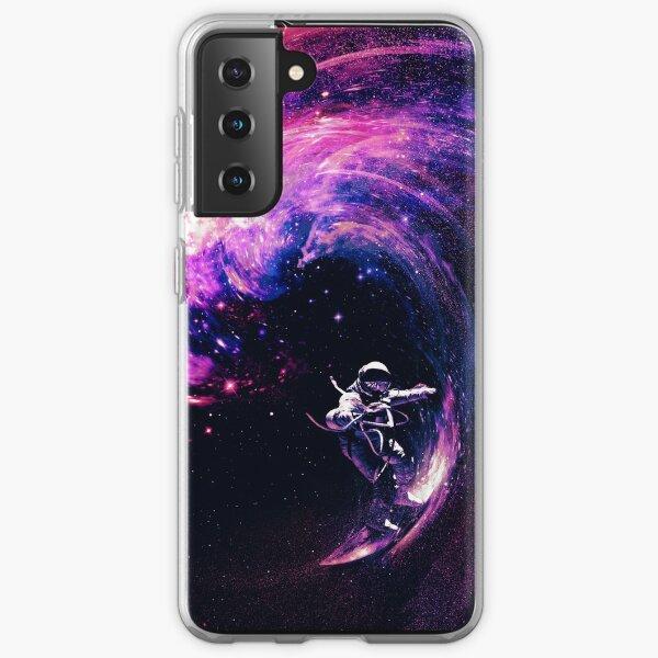 Space Surfing II Samsung Galaxy Soft Case