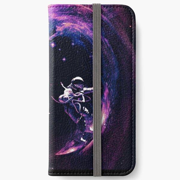Space Surfing II iPhone Wallet