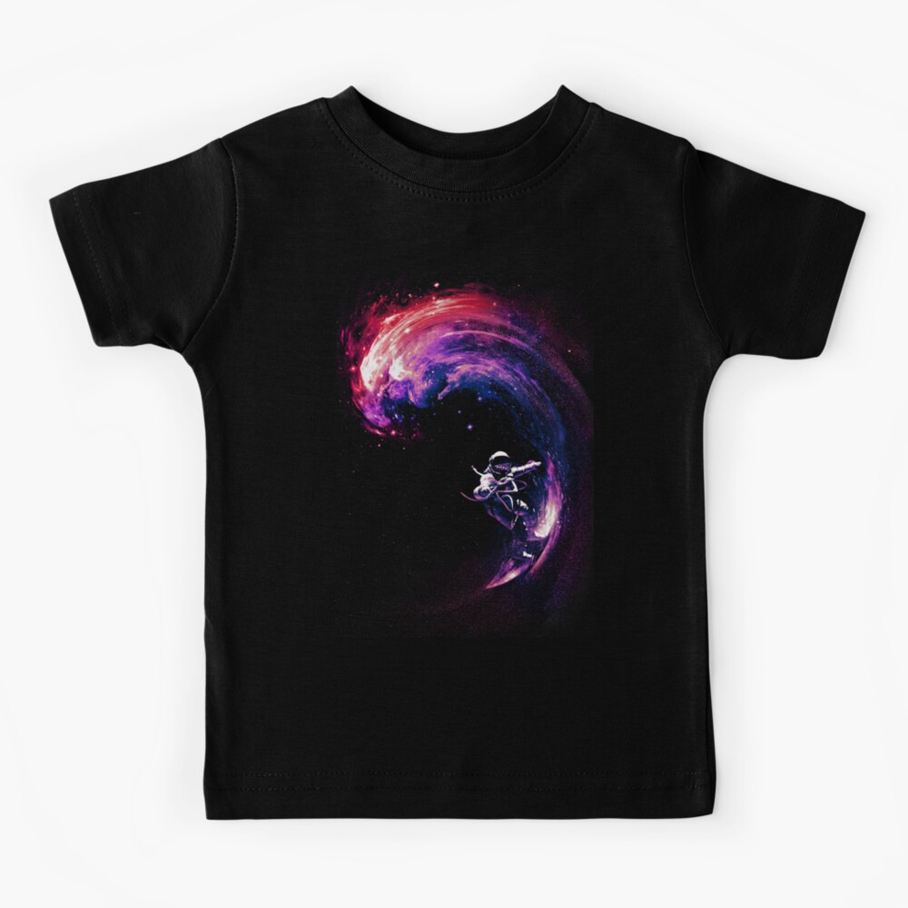 Space Surfing II Kids T-Shirt