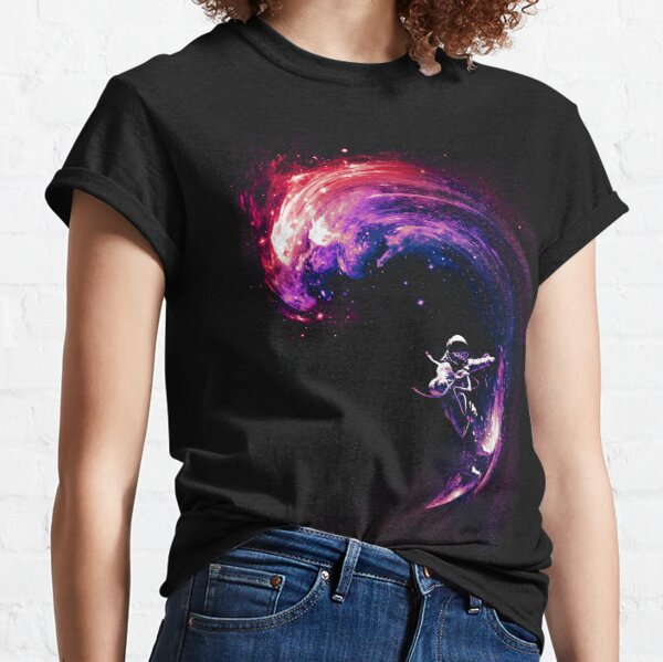 Space Surfing II Classic T-Shirt
