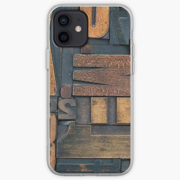 Letters  iPhone Soft Case