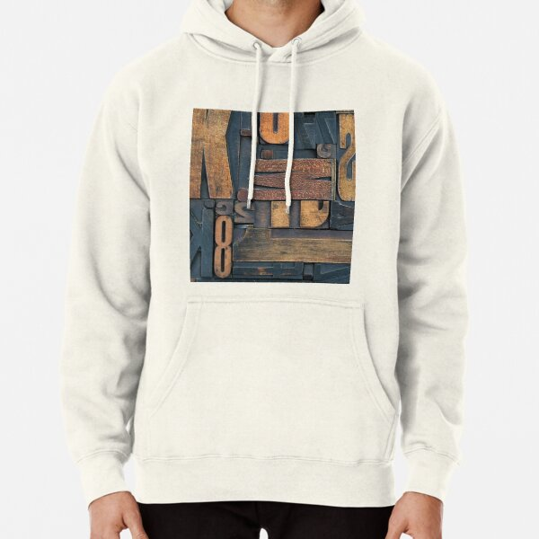 Letters  Pullover Hoodie