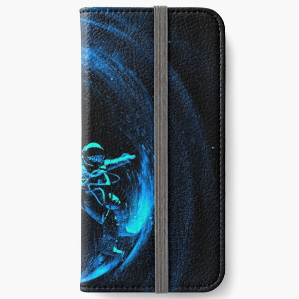 Space Surfing iPhone Wallet