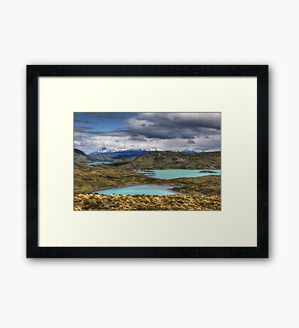 The Lakes of Torres del Paine #1 Framed Print