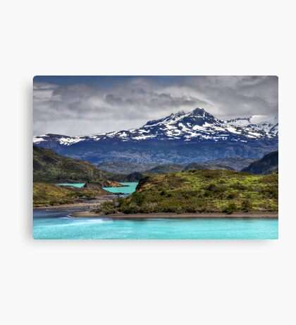 The Lakes of Torres del Paine #2 Canvas Print