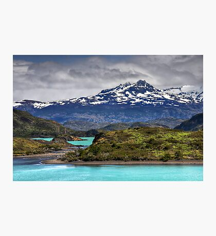 The Lakes of Torres del Paine #2 Photographic Print