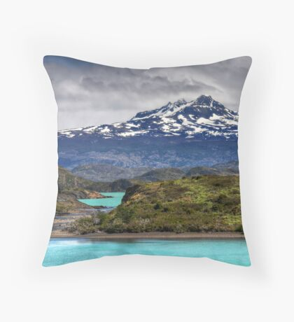 The Lakes of Torres del Paine #2 Throw Pillow