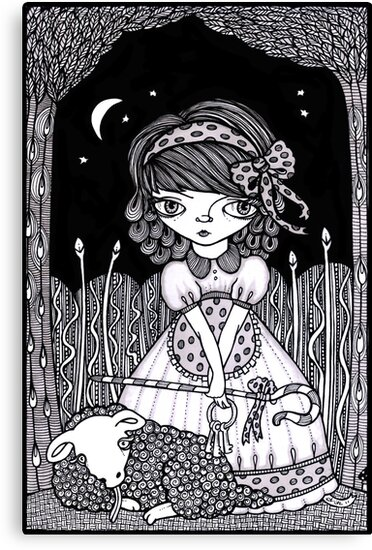 Pouty Miss Peep by Anita Inverarity