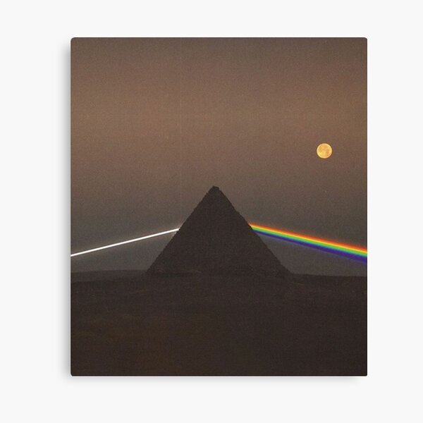Prisme Pink Floyd Impression sur toile