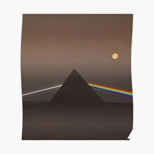 Prisma Pink Floyd Póster