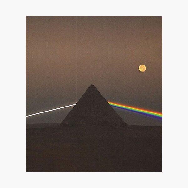 Pink Floyd prism Photographic Print