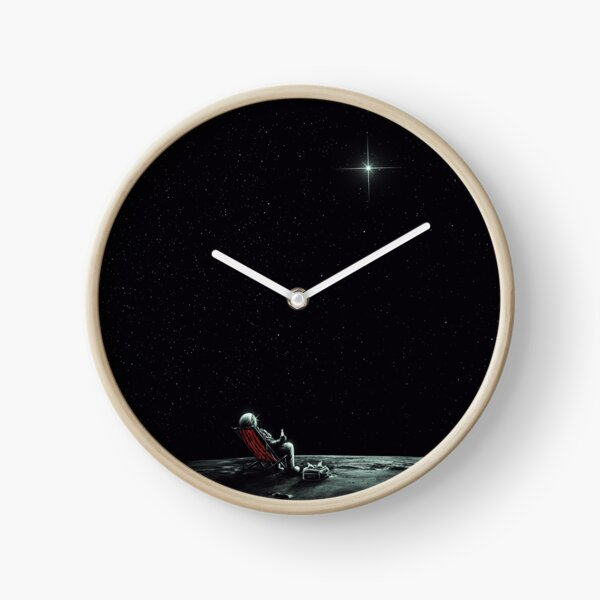 Space Chill Clock
