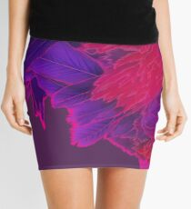 Psychedelic Rooster #1 Mini Skirt
