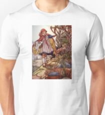 """""""Little Red Riding"""" by Charles Robinson T-Shirt"""
