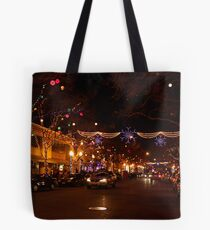 Holiday Streetscape Tote Bag