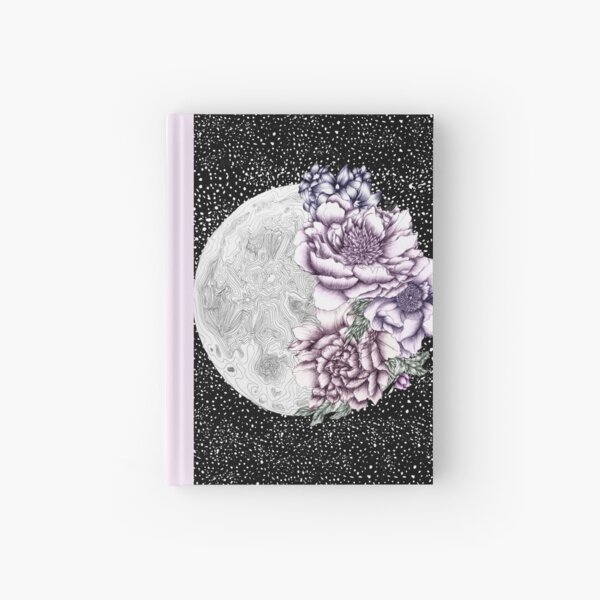 Moon Abloom II Hardcover Journal