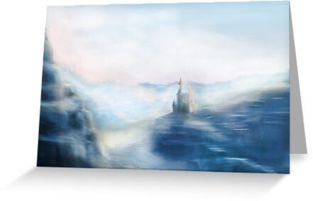 Mountain Castle by Derek Stewart