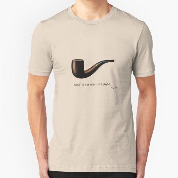 ceci n'est pas une pipe Slim Fit T-Shirt