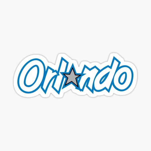 Orlando Basketball Simple Sticker