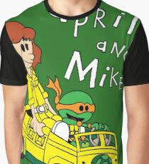 April and Mikey Graphic T-Shirt