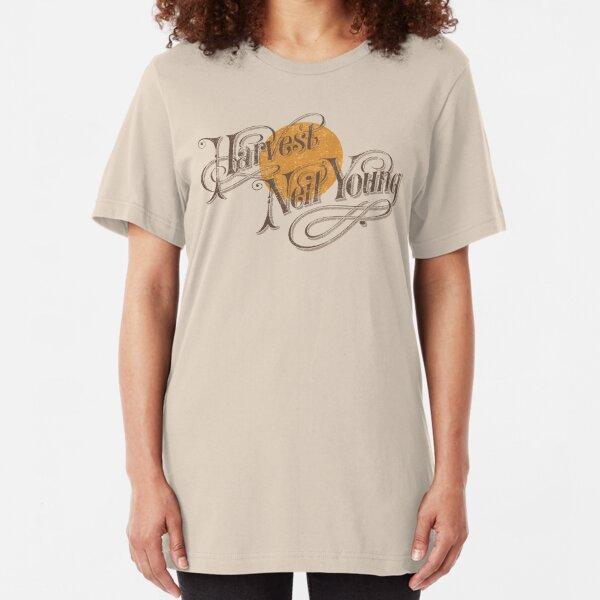 Harvest (distressed design) Slim Fit T-Shirt