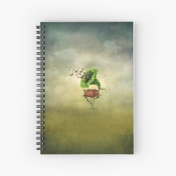 Sound garden Spiral Notebook