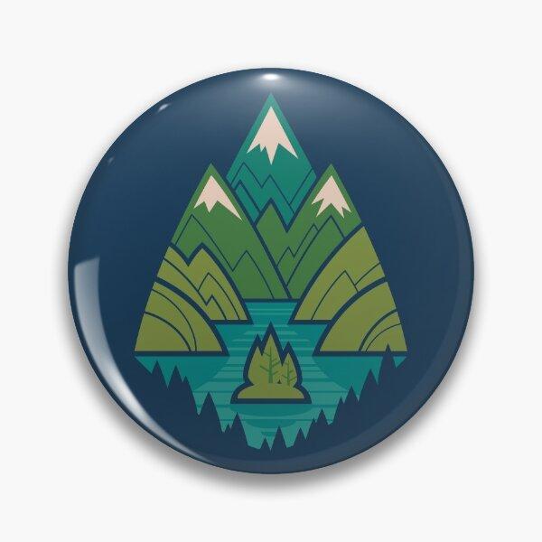 Mountain Lake Pin