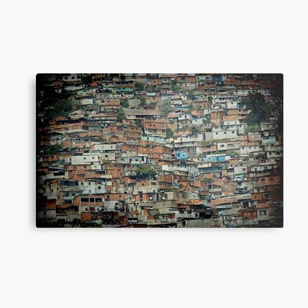 Caracas Ranchos © Metal Print