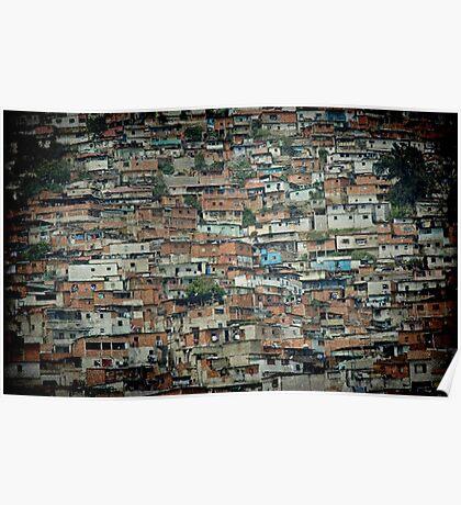 Caracas Ranchos © Poster